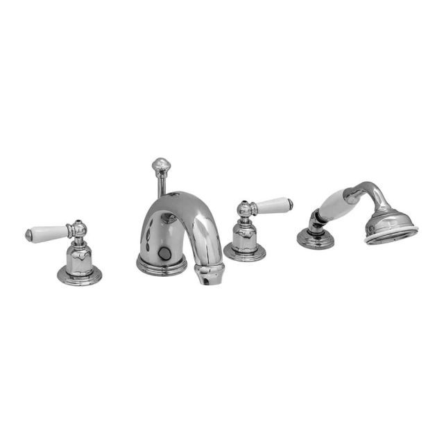 Perrin and Rowe Traditional 180mm Four Hole Bath Set