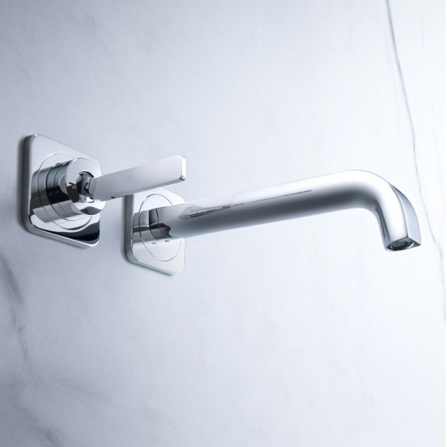 AXOR Citterio E Wall Mounted Basin Mixer Tap, with Joystick