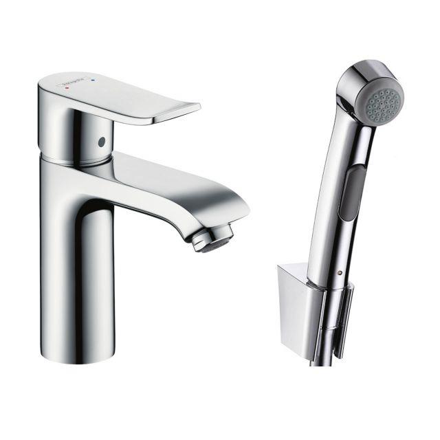 Hansgrohe Metris Bidet Mixer Tap with 1jet Hand Shower
