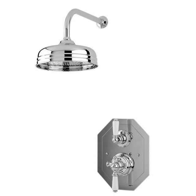 Perrin and Rowe Traditional Shower Set Three