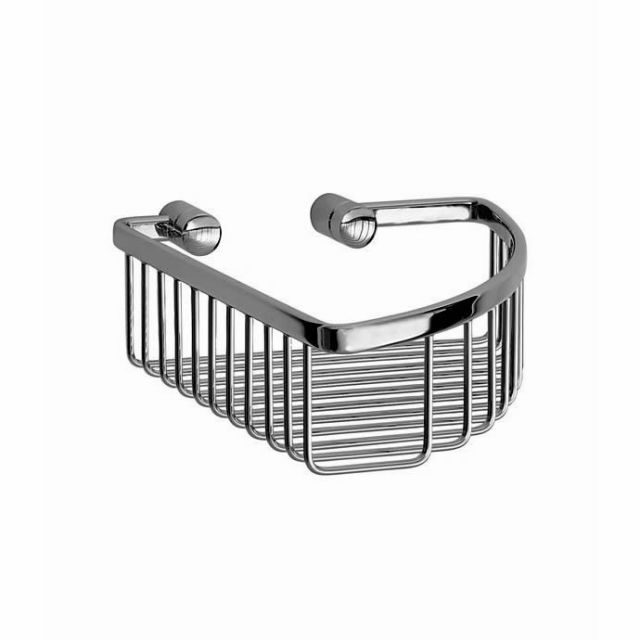 Smedbo Loft Corner Soap Basket (Diameter: 195mm, Height: 60mm)
