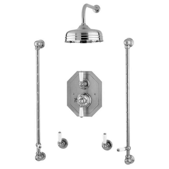 Perrin and Rowe Traditional Shower Set Five