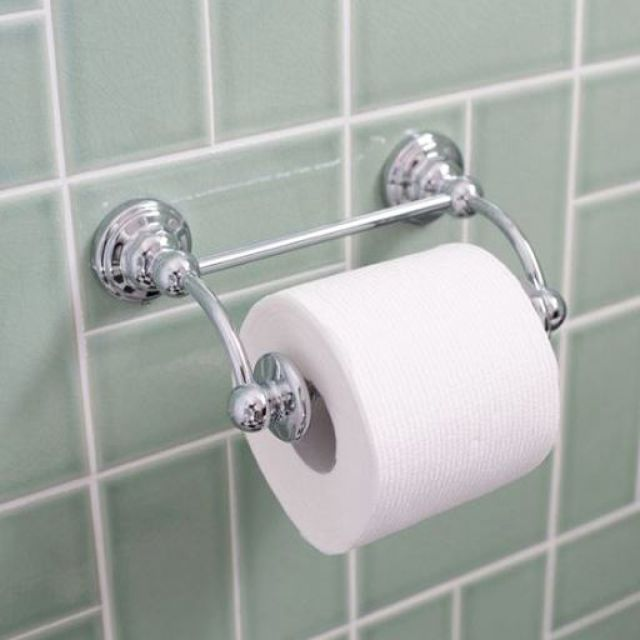 Perrin and Rowe Traditional Wall Mounted Toilet Roll Holder