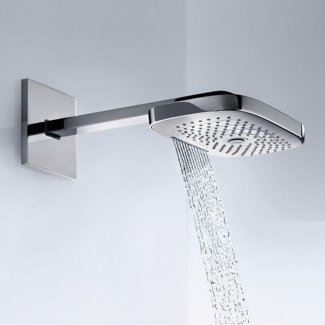 Hansgrohe Raindance Select E 300 3jet Shower Head With Arm