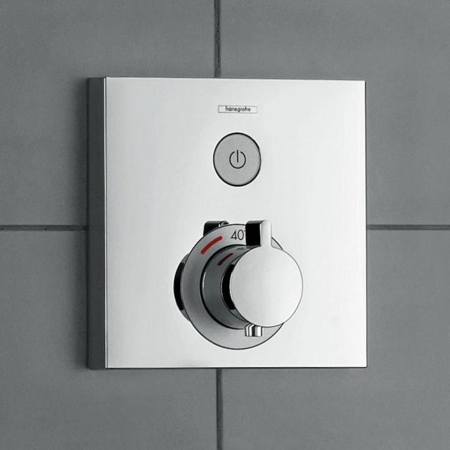 Hansgrohe ShowerSelect Thermostatic Mixer, with on/off