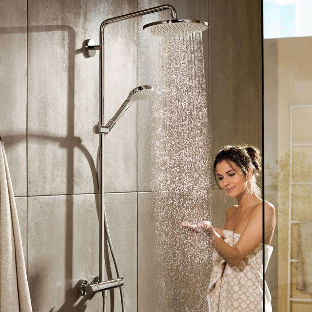 Hansgrohe Round Croma Select 280 Showerpipe