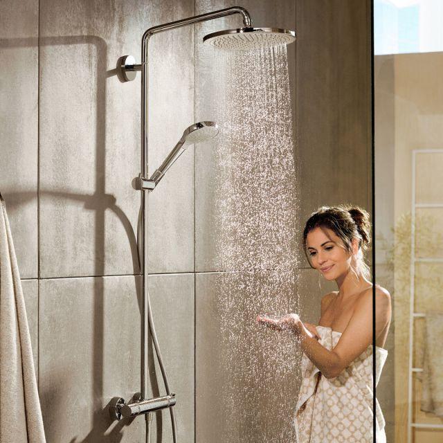 Hansgrohe Round Croma Select 280 Showerpipe - 88101046