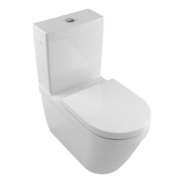 Villeroy & Boch Architectura Rimless Washdown Close Coupled Toilet