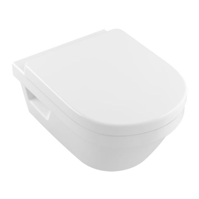 Villeroy and Boch Architectura XL Rimless Wall Mounted Toilet - 4688R0R1