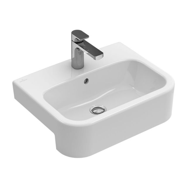 Villeroy and Boch Architectura Semi-recessed Washbasin