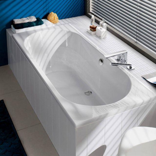 Villeroy and Boch O.Novo Double Ended Rectangular Bath