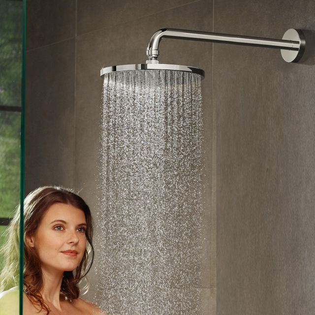 Hansgrohe Raindance S 240 Overhead Shower 1 Jet with Arm PowderRain