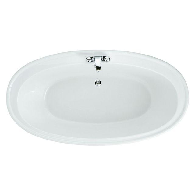 Adamsez Andante i Large Oval Inset Bath Tub