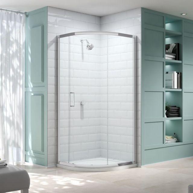 Merlyn Series 8 Single Door 900mm Quadrant Shower Enclosure