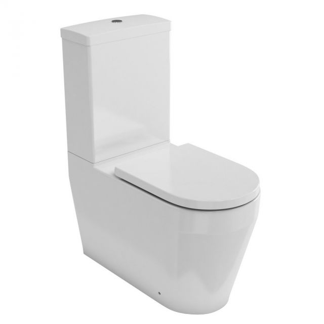 Britton Stadium Rimless Close Coupled Toilet