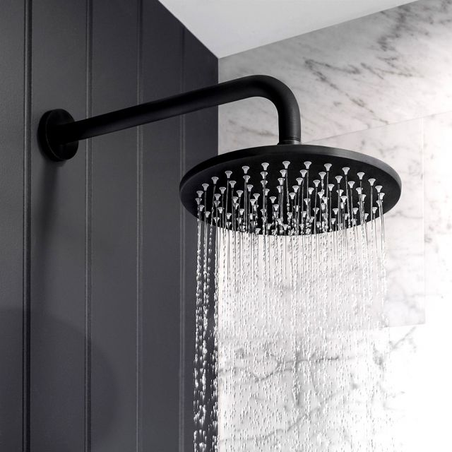 Crosswater MPRO Matt Black Shower Heads