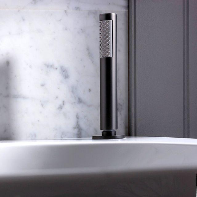 Crosswater MPRO Matt Black Follow Me Bath Mounted Shower Handset