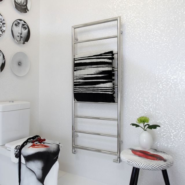 JIS Sussex Alfriston Heated Towel Rail