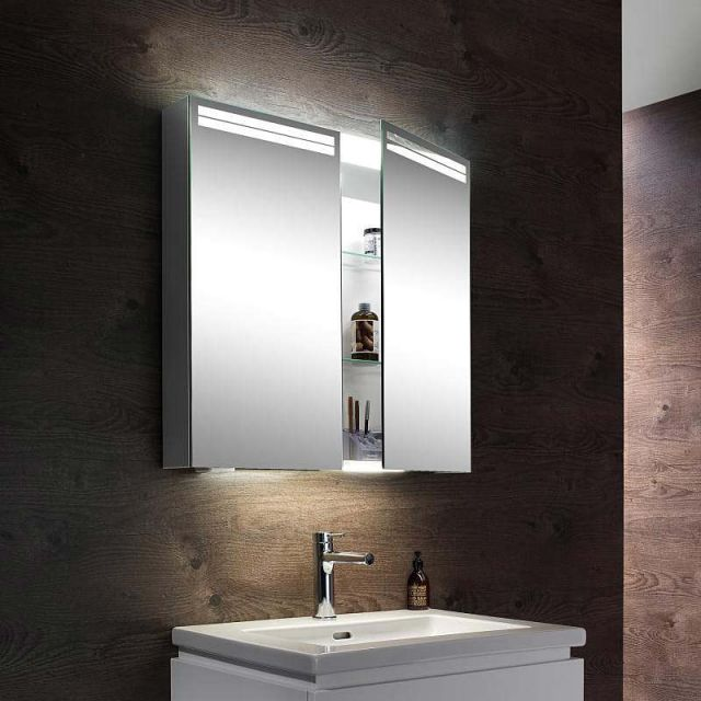 Schneider ARANGALINE LED Mirrored Cabinet