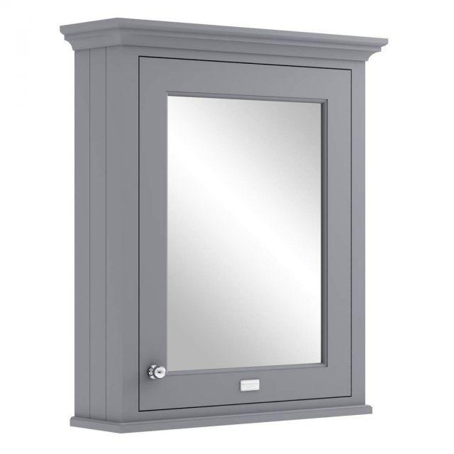 Bayswater 600 Single Door Mirror Cabinet