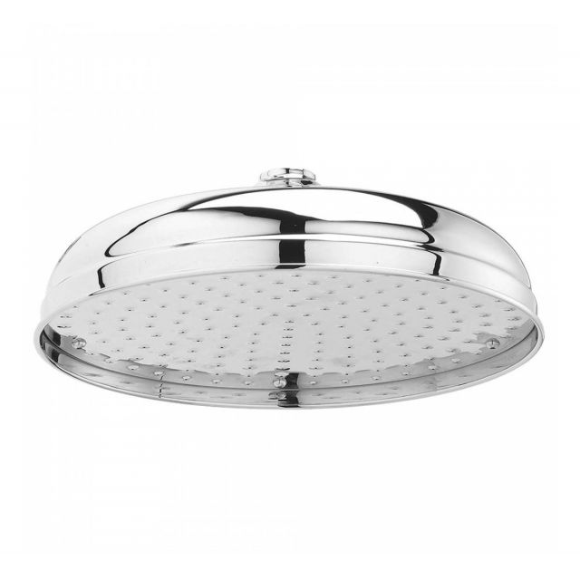 Bayswater  Chrome Apron Fixed Shower Head