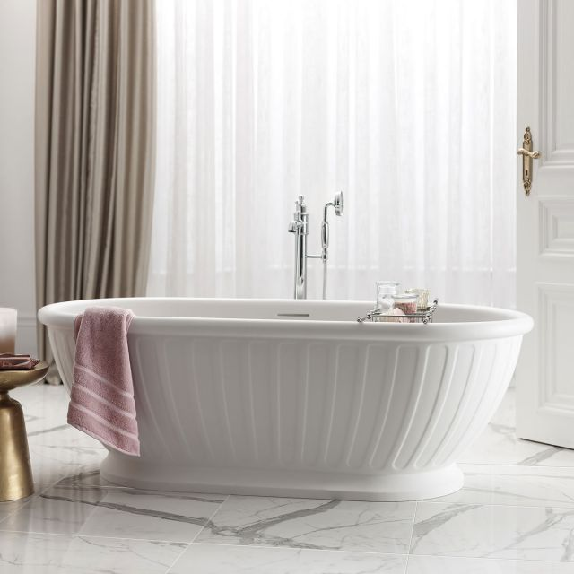 Arcade Albany Natural Stone Free Standing Bath