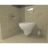 Vitra S20 Wall Hung Toilet and Geberit WC Frame Pack