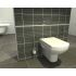 Vitra Nuova Wall Hung WC, Geberit Concealed Cistern & Geberit Kappa20 Pack