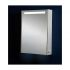 Phoenix Single Door Aluminium Mirror Cabinet