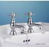 Silverdale Victorian Traditional Basin Taps