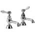"Imperial Crown Lever 3/4"" Bath Pillar Taps"