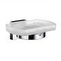 Smedbo House Frosted Glass Soap Dish