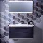 Roper Rhodes Scheme Wall Mounted Isocast Basin Unit with Double Drawers