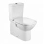 Roca Debba Fully Back to Wall Close Coupled Toilet