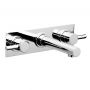 Swadling  Absolute 3 Hole Wall Mounted Bath Taps