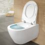 Villeroy and Boch Subway 2.0 Rimless Wall Hung WC with ViFresh and ViSeat
