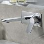 VitrA Memoria Lever Handle Wall Basin Tap