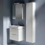 Laufen Base Reduced Depth Tall Cabinet with Side Panels