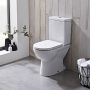 Tavistock Ion Open Back Close Coupled Toilet