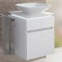 Villeroy and Boch Legato Small 2 Drawer Vanity for Washbowls
