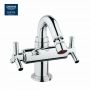 Grohe Atrio Ypsilon Bidet Mixer with Pop-up Waste