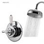 Aqualisa Aquatique Thermo Concealed Mixer with Fixed Shower Head