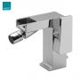 Vado Synergie Bidet Mixer with a Waterfall Spout and Pop Up Waste