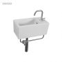 Saneux Quadro 400 x 200mm Washbasin