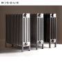 Bisque Classic 4-Column Deep Radiator with Feet 4F-40-69