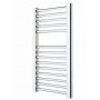 Mere Savoy Straight Multirail Radiator - Chrome