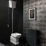 Bauhaus Waldorf Back To Wall Toilet With High Level Cistern