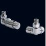 Bisque Thermostatic Valve Set L (Angled)