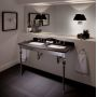 Imperial Troon Marble Console Stand with Radcliffe Basins