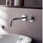 Axor Uno Wall-mounted Single Lever Basin Mixer with 225mm Spout